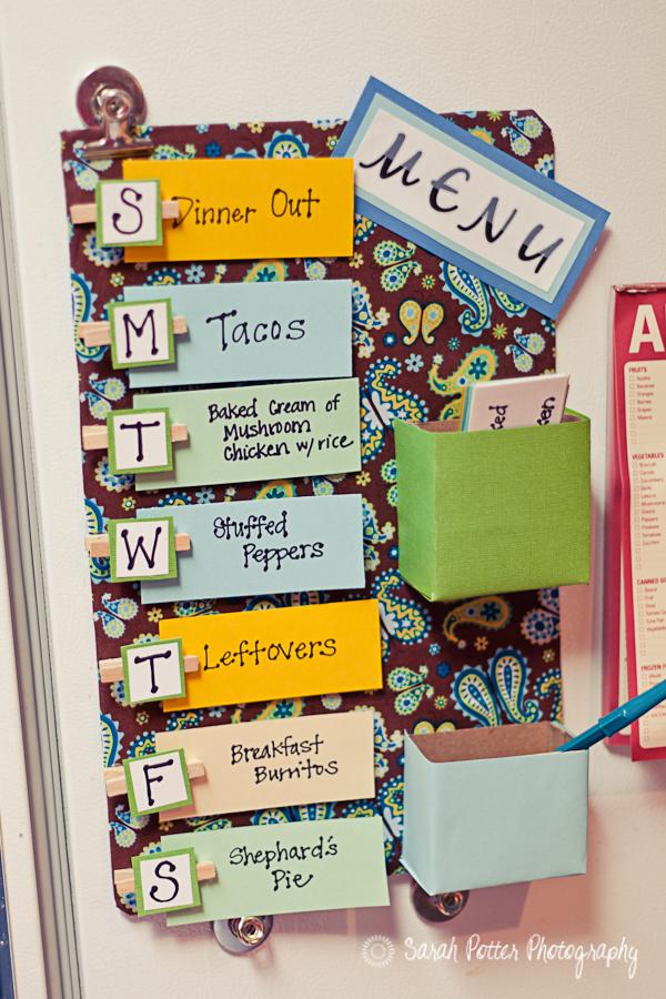 menu planner image
